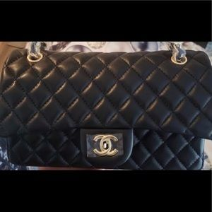 Authentic Chanel Classic Lambskin Double Flap